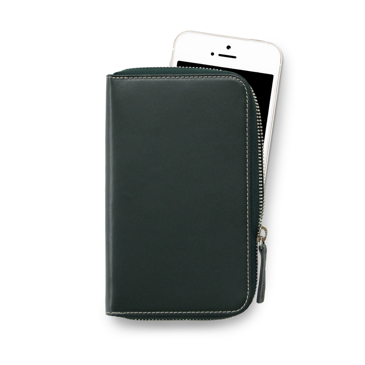 [에가든]Daily Phone Pocket +_Deep Green