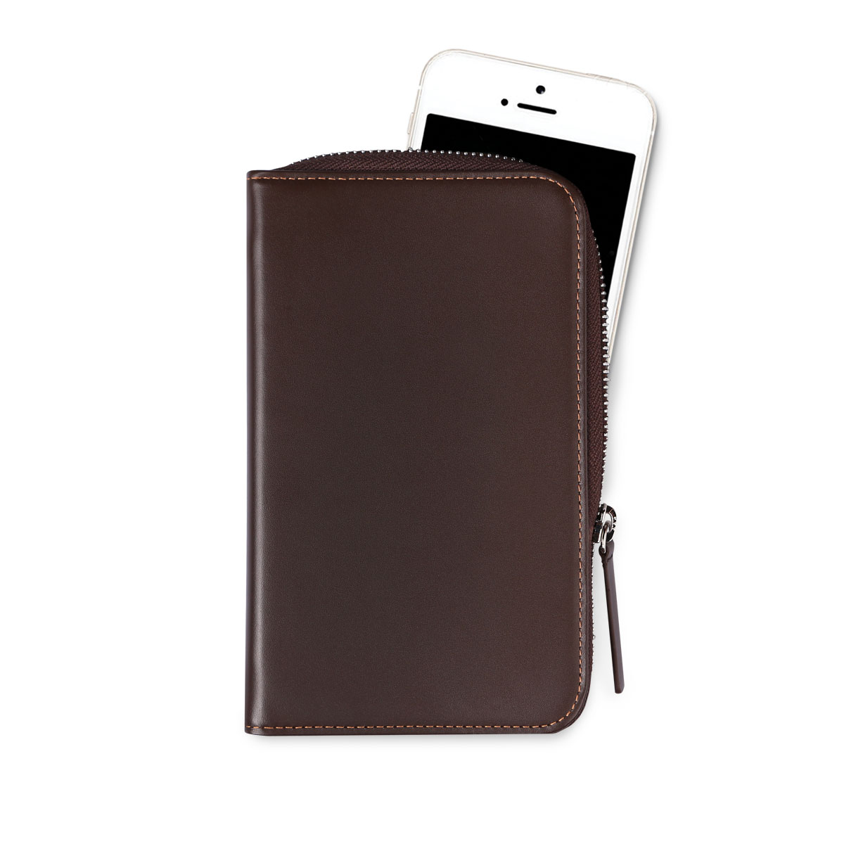Daily Phone Pocket +_Dark Brown