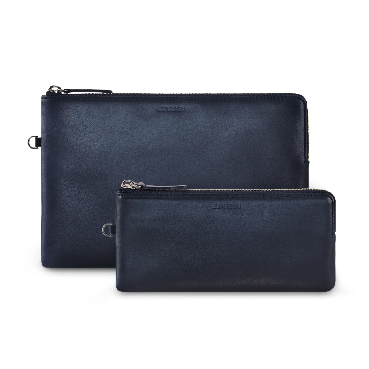 Zip Clutch_Dark Navy