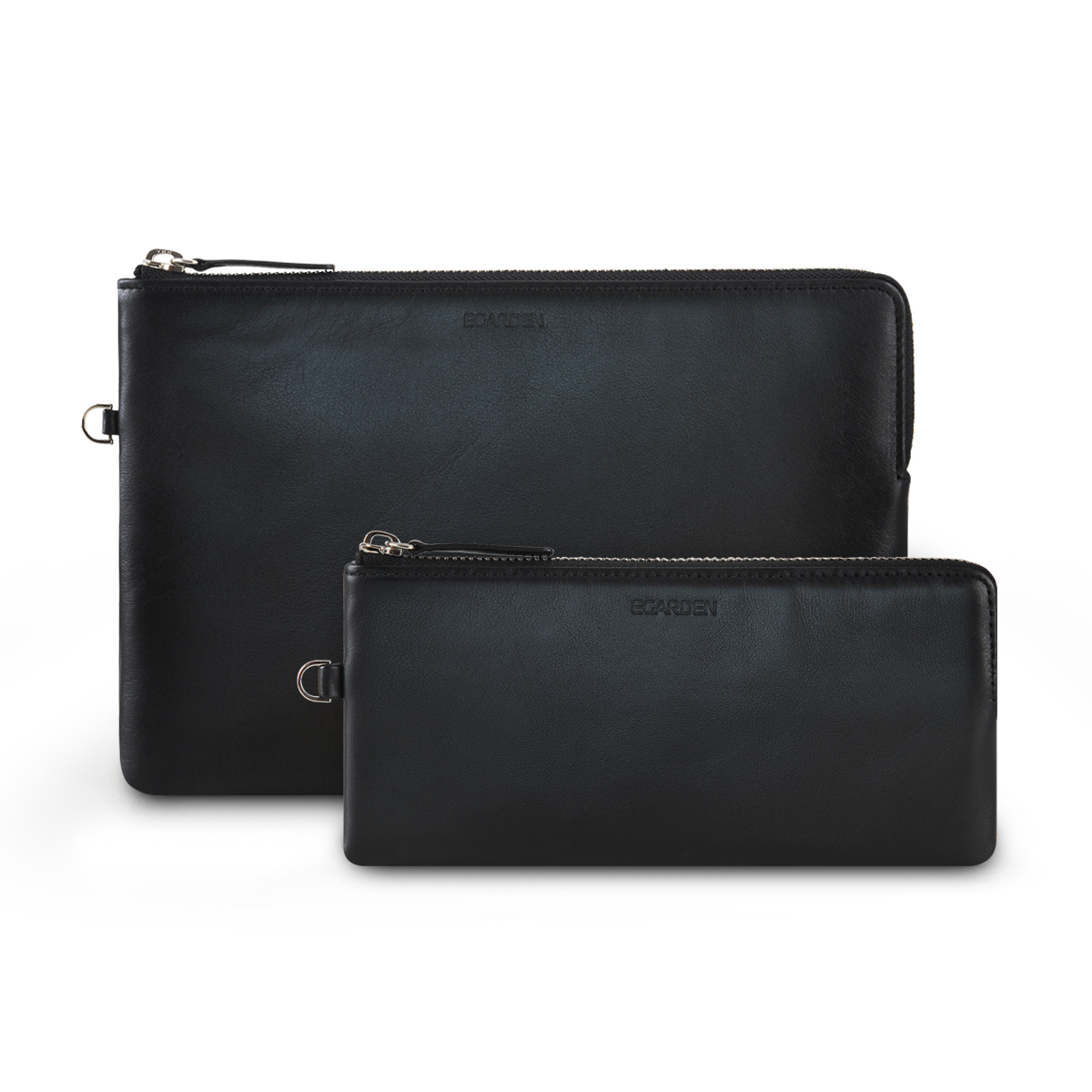 Zip Clutch_Black